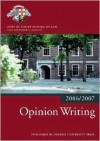 Opinion Writing - Inns of Court School of Law