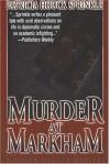 Murder At Markham - Patricia Sprinkle