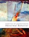 Essentials of Understanding Abnormal Behavior, Brief - Derald Wing Sue, Stanley Sue