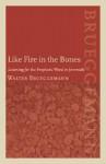 Like Fire in the Bones: Listening for the Prophetic Word in Jeremiah - Walter Brueggemann
