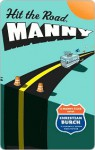 Hit the Road, Manny: A Manny Files Novel - Christian Burch