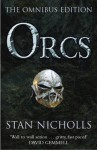 Orcs: Bodyguard of Lightning; Legion of Thunder; Warriors of the Tempest (Orcs: First Blood) - Stan Nicholls