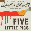 Five Little Pigs (Audio) - Hugh Fraser, Agatha Christie