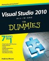 Visual Studio 2010 All-in-One For Dummies - Andrew Moore