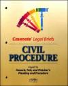 Civil Procedure: Keyed to Hazard, Tait, and Fletcher's Pleading and Procedure - Aspen Publishers