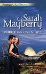 More Than One Night (Harlequin Superromance) - Sarah Mayberry