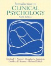 Introduction to Clinical Psychology - Michael T. Nietzel, Douglas A. Bernstein, Geoffrey P. Kramer