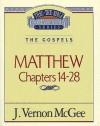 Thru the Bible Vol. 35: The Gospels (Matthew 14-28): The Gospels (Matthew 14-28) - Vernon McGee