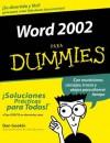 Word 2002 Para Dummies, Spanish Edition - Dan Gookin