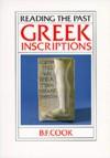 Greek Inscriptions - B.F. Cook
