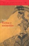 Poemas y Testimonios - Safo