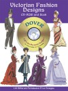 Victorian Fashion Designs CD-ROM and Book - Tom Tierney
