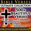 BIBLE VERSES ULTIMATE COLLECTION - 500+ of the Most Beautiful Verses for You to Read, Memorize and be Inspired by Every Day - In 30 easy to jump to Topics - PLUS Special EASTER and CHRISTMAS Sections - Father Michael Bonham