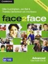 Face2face Advanced Class Audio CDs (3) - Theresa Clementson, Gillie Cunningham, Jan Bell, Chris Redston