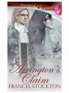 Arrington's Claim (Panthera, Book Four) - Frances Stockton