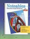 Algebra 2: Interactive Study Notebook with Foldables - Dinah Zike, Douglas Fisher