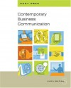 Contemporary Business Communication - Scot Ober