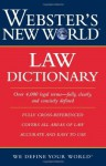 Webster's New World Law Dictionary - Jonathan Wallace, Susan Ellis Wild