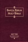 NVI/NIV Biblia Bilingue, piel especial negro, indice - Vida Publishers