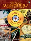 Vintage Automobile Ads and Posters CD-ROM and Book - Carol Belanger-Grafton