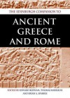 The Edinburgh Companion to Ancient Greece and Rome - Edward Bispham, Thomas Harrison, Brian Sparkes