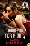 Thank You for Riding - Meg Maguire