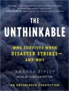 The Unthinkable: Who Survives When Disaster Strikes - and Why (Audio) - Amanda Ripley, Kirsten Potter