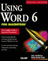 Using Word 6 For Macintosh (Using ... (Que)) - Ron Person