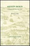 Agusta-N Duran: A Biography and Literary Appreciation - David T. Gies
