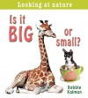 Is It Big or Small? - Bobbie Kalman