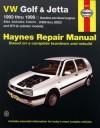 VW Golf & Jetta 1993 thru 1998 - John H Haynes, George Parise, Spencer Drayton, Mark Coombs