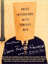 Brief Interviews with Hideous Men (Audio) - David Foster Wallace, John Krasinski, Bobby Cannavale, Michael Cerveris