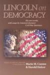 On Democracy - Mario M. Cucomo, Abraham Lincoln, Harold Holzer, G.S. Boritt, Mario M. Cucomo