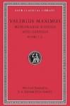 Memorable Doings and Sayings, Volume I: Books 1-5 - Valerius Maximus, D.R. Shackleton Bailey