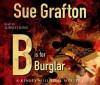 B is for Burglar (Kinsey Millhone Mystery) - Sue Grafton