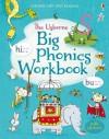 Big Phonics Workbook (Usborne Very First Reading) - Mairi Mackinnon, Fred Blunt