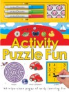 Wipe Clean Activity Puzzle Fun - Roger Priddy