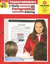 Daily Paragraph Editing Transparencies, Grade 3 - Evan-Moor Educational Publishers