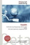 Vaadin - Lambert M. Surhone, VDM Publishing, Susan F. Marseken