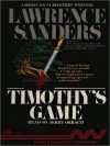 Timothy's Game (Audio) - Lawrence Sanders, Jerry Orbach
