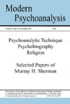 Modern Psychoanalysis, Volume 32, Number 2 - Center For Modern Psychoanalytic Studies