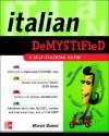 Italian Demystified - Marcel Danesi