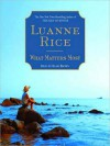 What Matters Most (Audio) - Luanne Rice, Ann Marie Lee