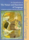 An Introduction to the Nature and Functions of Language: Second Edition - Howard Jackson, Peter Stockwell