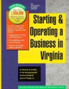 Starting and Operating a Business in Virginia - Michael D. Jenkins