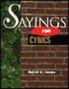 Sayings for Cynics - David Jones