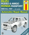 Isuzu Rodeo & Amigo, Honda Passport Automotive Repair Manual - Robert Maddox, John Harold Haynes