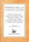 Antologia de Los Poetas Del 27 - Various, Jose Luis Cano