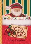 Do You Believe?: A Pocket Treasure Book for Christmas - Mary Engelbreit