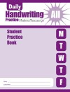 Daily Handwriting Practice: Student Practice Book: Modern Manuscript: All - Evan-Moor Educational Publishing